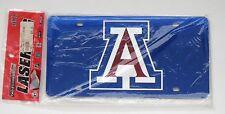 University of Arizona Wildcats Car Tag/Plate- Durable Acrylic Mirror USA *NEW*