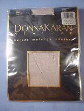 Donna Karan Style 274 Velvet Melange Heather Pantyhose Size Small in Beige