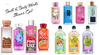 New Bath & Body Works Shea & Vitamin E Body Wash Shower Gel 8 oz & 10 oz