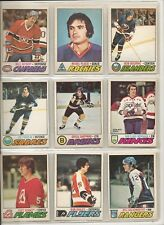 Lot of 20 Different 1977-78 OPC O-Pee-Chee Cards **U-Pick** Complete Your Set