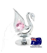 CRYSTOCRAFT Swan with SWAROVSKI crystals