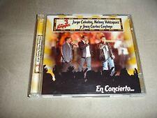 Los 3 Amigos En Concierto 2 CD Set Jorge Celedon Nelson Velasquez Jean C Centeno