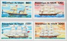 NIGER 1984 888-91 Sailing Steam Ships Segelschiffe Schiffe Watercrafts MNH