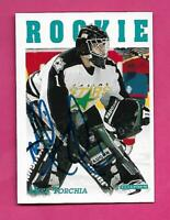 NORTH STARS MIKE TORCHIA  GOALIE AUTOGRAPH CARD (INV# C2855)