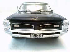 #0014 GUYCAST 1966 PONTIAC GTO NIGHTWATCH BLUE 200 MADE 1:18 ACME DIECAST CAR