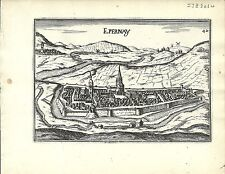 Antique map, Espernay / Epernay