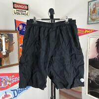 Aero Tech Designs Baggy Padded Cycling Biking Shorts Black Men's 3XL USA Made