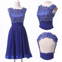 Sexy Short Cocktail Prom Party Formal Evening Ball Gown Wedding Bridesmaid Dress