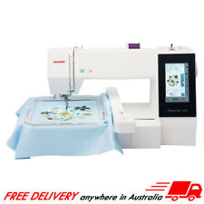 Janome Memory Craft 400e Embroidery Machine USB Design Hoop Monogramming Mc400e