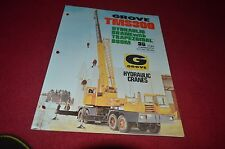 Grove TMS300 Truck Hydraulic Crane Dealer's Brochure DCPA6