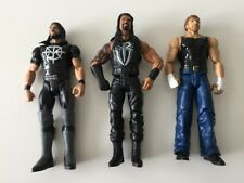 WWE Tough Talkers Talking Wrestling Figures Rollins Ambrose Reigns Mattel Toys