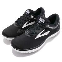 Brooks PureFlow 7 VII Black White Women Running Shoes Sneakers 120262 1B