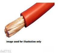 6mm Sq.. Rojo Auto Cable 50amp / 600watts (calificación de 3 Metros)