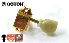GOTOH SD510-SL 3L+3R guitar machine heads, tuners gold vintage style