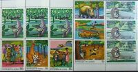 R.GUINEE-  Fables, Animals-6 St. MNH**,RG 42