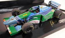 Modellini statici di auto da corsa Formula 1 MINICHAMPS benetton Scala 1:18