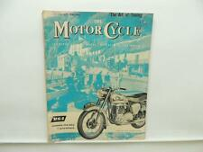 October 1959 THE MOTORCYCLE Magazine BSA 650 Twin Golden Flash L8100