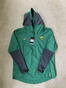 Nike Repel Men's Baylor Bears On Field 1/4 Zip Hooded Windbreaker Jacket Size LG