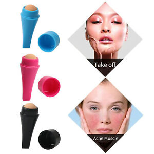 Oil Absorbing Volcanic Facial Roller Skincare Tool Oil Removing