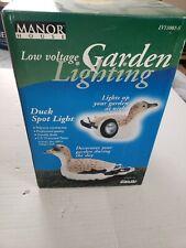 New listing Manor House Low Voltage Garden Lightning Duck Spot Light Lv11081-S