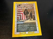 May 1965 National Geographic Nile Valley Pharaoh Shrimp US President Surtsey