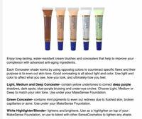 ☀️*SUMMER SALE*☀️ NEW/SEALED Corrective Color Concealer Blender SeneGence
