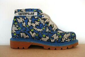 CAT CATERPILLAR WOMENS BOOTS LADIES RIDGE WALALA CASUAL COMIC LEATHER ANKLE UK 5