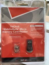 SanDisk MobileMate Micro Memory Card Reader SDDR-121S-V11M Universal New NIP