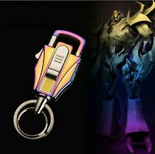 Honest Transformer Style Cigarette USB Recharge Lighter Key Ring Key Chain