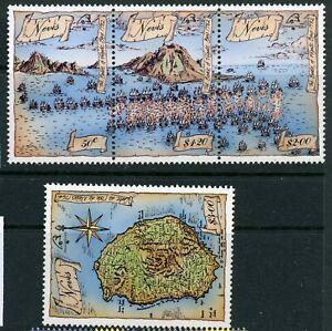 Nevis 1989 Philexfrance SG 517-520 UM/MNH
