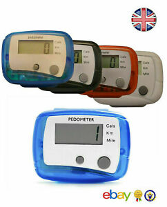 High Quality  Step Counter Pedometer Exercise Monitor Walking Counter Jogging UK
