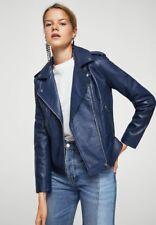 New Custom Made Genuine Lambskin Designer Leather Biker Jacket Women's #sk88