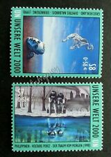 United Nation Arts 1998 Painting Green Environment Pollution Protect (stamp) MNH