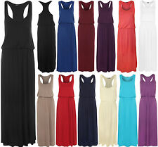 Viscose Patternless Regular Size Maxi Dresses for Women
