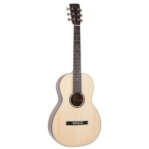 Recording King RP-G6 Solid-Top Single-0 Acoustic Guitar, Natural