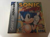 Sonic the Hedgehog: Genesis (Nintendo Game Boy Advance, 2006) GBA NEW!