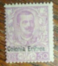 A54 Eritrea SC# 27 SC value $475 off center MH