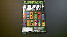 Car Wars Division 5 Vehicle Guide by Steve Jackson Games