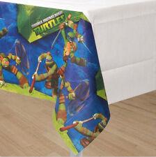 TEENAGE MUTANT NINJA TURTLES Paper Table Cover Birthday Party Supplies~