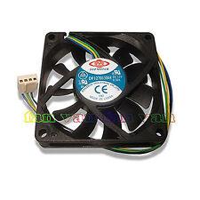New! 4 Wire 70mm PWM replacement fan for AMD Heatsinks Top Motor DF127015BU NEW