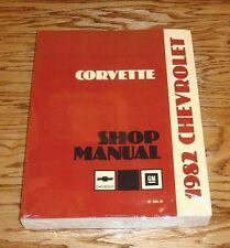 1982 Chevrolet Corvette Service Shop Manual 82 Chevy