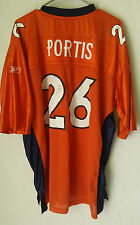 Denver BRONCOS Jersey of CLINTON PORTIS PLAYERS Jersey for the BRONCOS #1 Fan XL