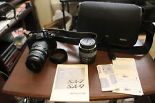 SIGMA SA 7N SLR CAMERA 70-300MM WITH CASE AND EXTRA LENS