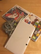 White Nintendo 3ds Xl