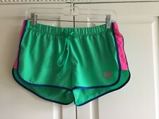 ABERCROMBIE AND FITCH Women's Running Shorts Size M Green