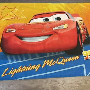 WALT DISNEY CARS LIGHTNING MCQUEEN & TOW MATER TRUCK PILLOW CASE PILLOWCASE
