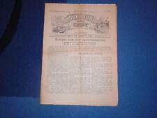 SLOBODA ILI SMRT No. 3-4 - CHETNIKS PROPAGANDA NEWSPAPER WWII - 1944