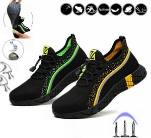 Safety Shoes Lightweight Men Women Steel Toe cap Work Trainers Shoe Hiking Boots