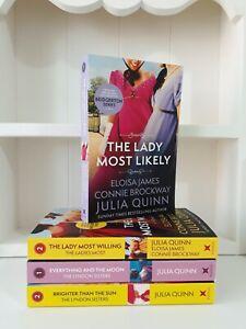 Collection of 4x Paperback Saga Romance Books Julia Quinn - NEW