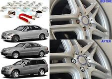 20 PACK CHROME LUG NUT COVERS FOR MERCEDES BENZ VEHICLES NEW FREE SHIPPING USA